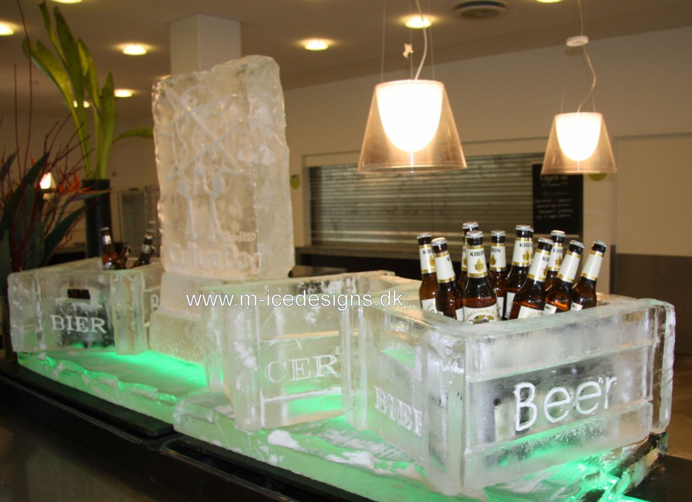 Icebar – Beer boxes and logo